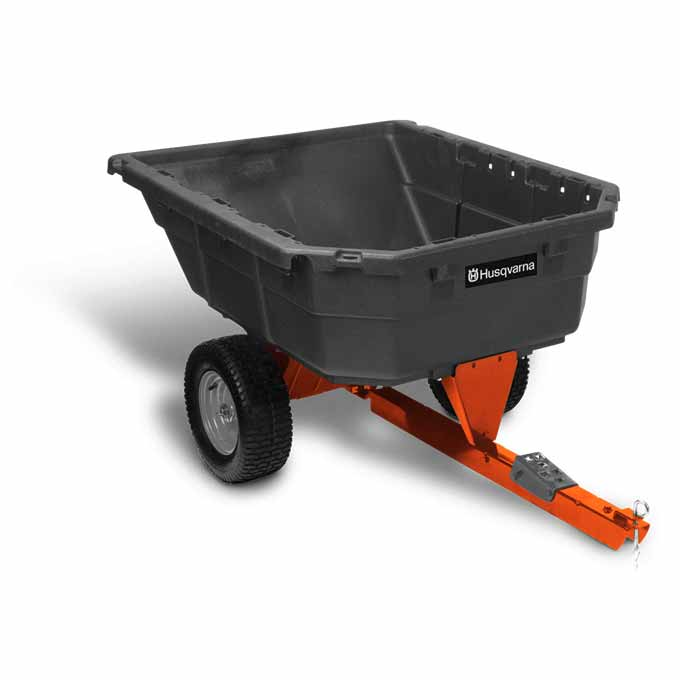 Husqvarna 12.5 Cu. Ft. Poly Swivel Dump Cart